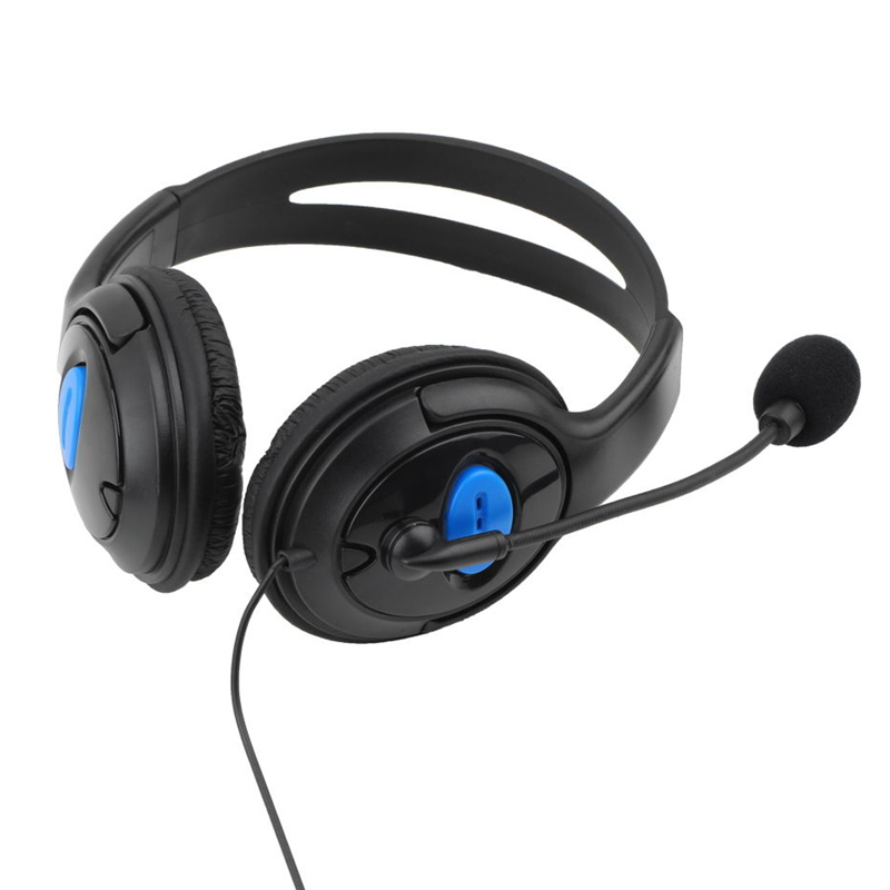 Headset med mikrofon for PS4 – ConsultWare Shop